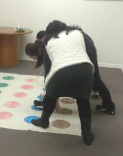 Playing twister (NSFS repository)