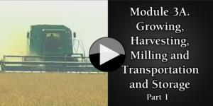 Module 3A. Growing, Harvesting, Milling and Transportation and Storage part1