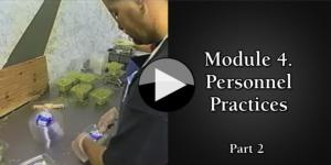 Module 4. Personnel Practices part2