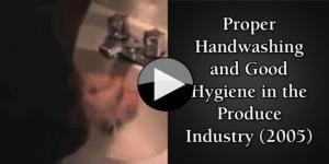 Proper Handwashing and Good Hygiene in the Produce Industry (2005)