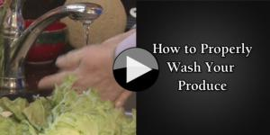 How to Properly Wash Your Produce