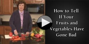 How to Tell If Your Fruits and Vegetables Have Gone Bad