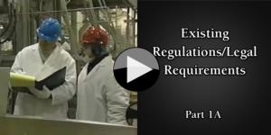 Part 1A Existing RegulationsLegal Requirements
