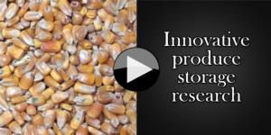 Innovative produce storage research