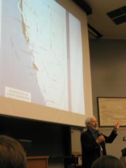 Sandy Lydon, Santa Cruz local historian, talks about his boyhood in the area and his first encounters as a young child with the Redwoods.