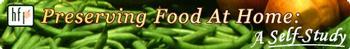 preserving food banner