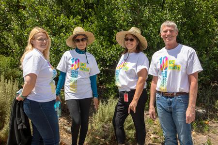 UCCE Staff participates in UC Walks