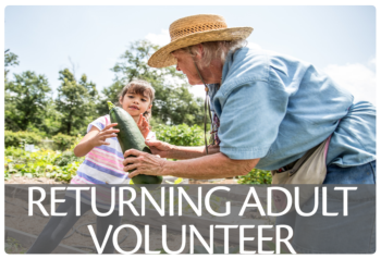 Link to Returning Adult Volunteer enrollment information
