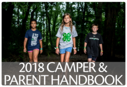 Click here to download a PDF of the 2018 Camper & Parent Handbook