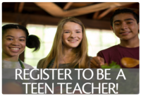 Click here to learn more about becoming an EcoQuest Teen Counselor!