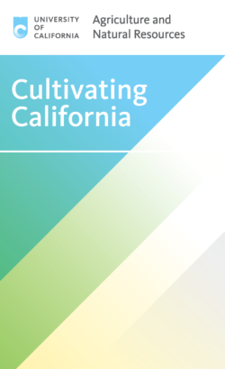 Cultivating California Cover