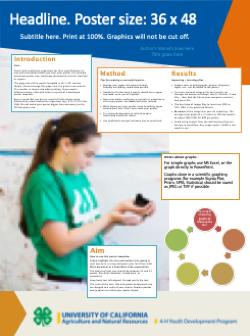 4-h templates - anr branding toolkit, Modern powerpoint
