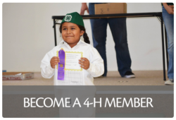 Youth ages 5-19 can enroll in 4-H.