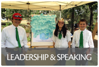 Link to Leadership & Speaking project area page