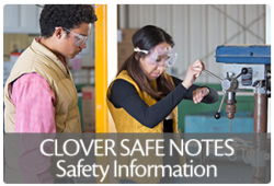 Link to Clover Safe Notes - safety information for 4-H