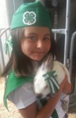 Herald 4-H Rabbit Project Member