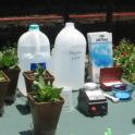 Everris demonstration on fertilizer management to prevent nutrient runoff.