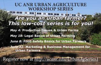 Urban Ag Bay Area Workshop Series