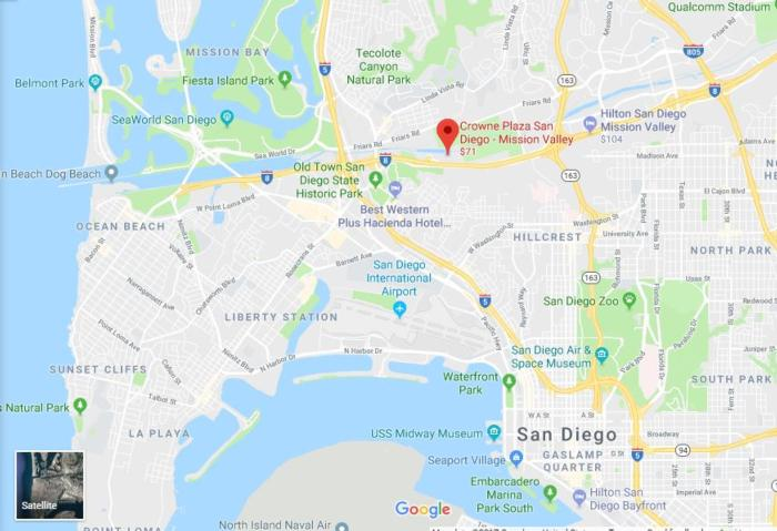 sd location map
