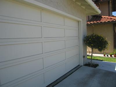 Garage Door Skewed