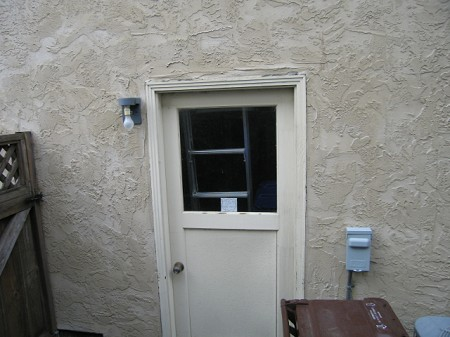 Garage Pers Door Window