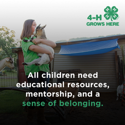 All children need educational resources, mentorship, and a sense of belonging.