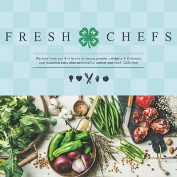 4-H Fresh Chefs cookbook