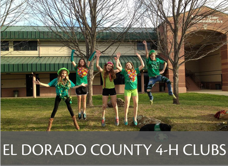 El Dorado County 4-H Community Club Information