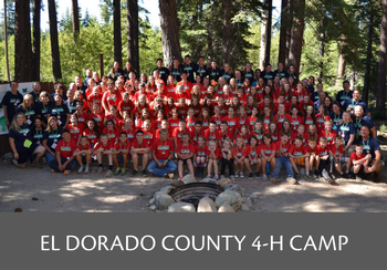 El Dorado County 4-H Summer Camp