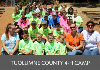 Tuolumne County 4-H Summer Camp