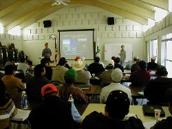Course held in Spanish at the UCCE in Santa Cruz County