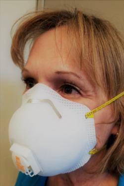 Respirator masks should be properly fitted.