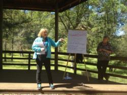 SNAMP collaboration training in Oakhurst, CA April 2013