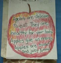 Apples-Mrs Hartunian King elementary