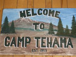 Camp Tehama Sign Picture