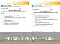 Project Proficiency Website Page Link
