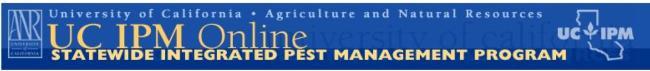 Click for Home, Garden, Landscape & Turf IPM Information