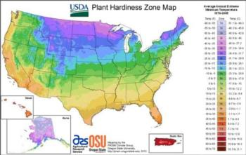 Planting Zones In Lake Tahoe UCCE Master Gardeners Of Lake Tahoe - Lake tahoe us map