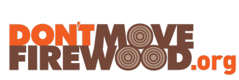Don't move firewood logo from https://www.dontmovefirewood.org