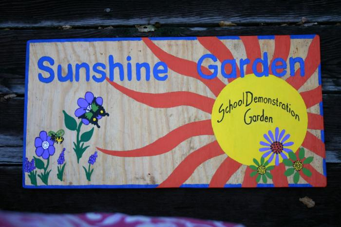 Sunshine Garden Sign