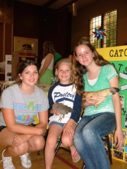 4-H Members at Open House
