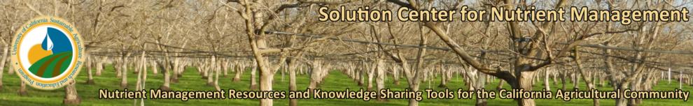 Solution Center for Nutrient Management