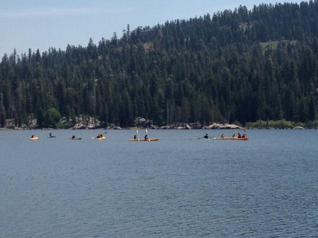 Kayaking At Lake Sterling