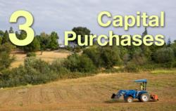 3: Capital Purchases
