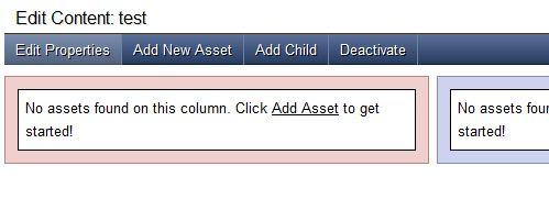 Adding  asset in Page Content