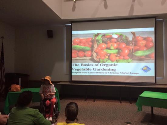 Organic Veggie Gardening - Ovitt Library 2015