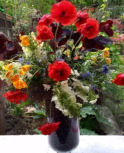 Memorial Day Bouquet by Sue Lovelace