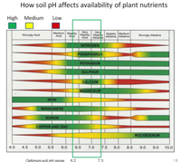 How soil pH affects nutrient availability