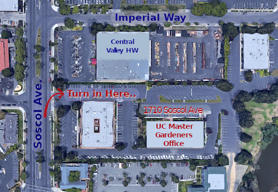 Where to park for UCCE events