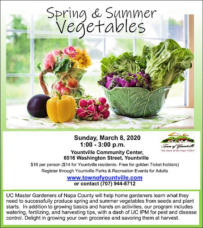 Click on:  	Master Gardeners Growing Spring and Summer Veggies 2020